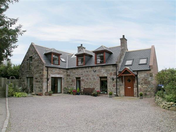 Thornton Cottage in Kincardineshire