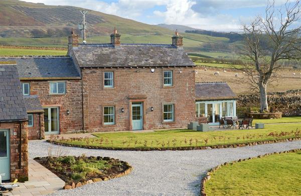 Todd Hills Hall Farmhouse in Melmerby, Cumbria