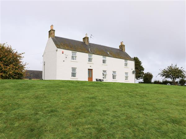 Todlaw Farm House in Roxburghshire