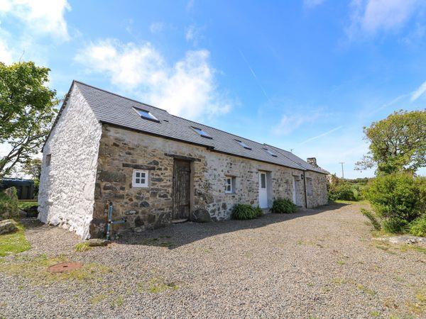 Trefechan Wen Barn in Dyfed