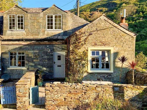 Tregullan Cottage in Cornwall