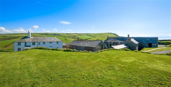 Trevigue Cottage in Cornwall