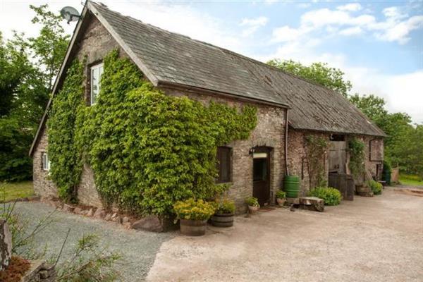 Trewalkin Barn in Powys