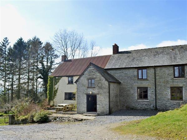 Trowley Farmhouse in Powys