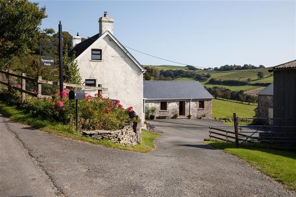 Tynewydd Farm in Lower Chapel, Powys