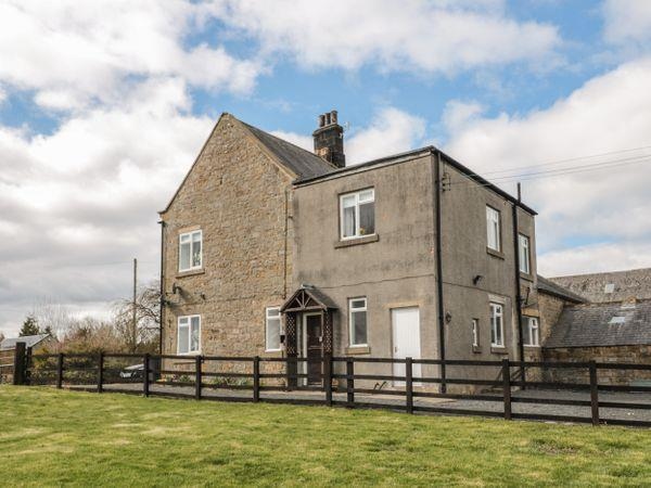 Wallhouses Farm Cottage in Northumberland