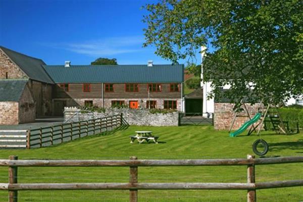 Walnut Tree Barn in Powys
