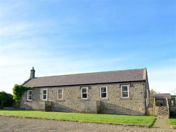 Wandylaw Farm Lodges - Outlook Lodge in Northumberland