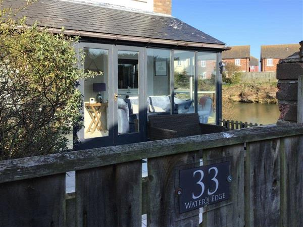 Waters Edge Holiday Home from Cottages 4 You