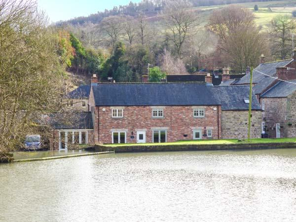 Weir Cottage on the Mill Pond in Derbyshire