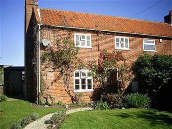West Cottage in Lessingham, Norwich, Norfolk
