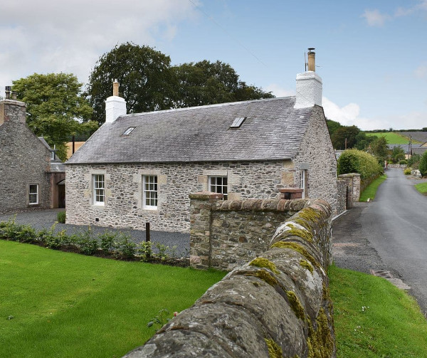 White Cottage in Roxburghshire