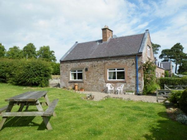 Wild Rose Cottage in Roxburghshire