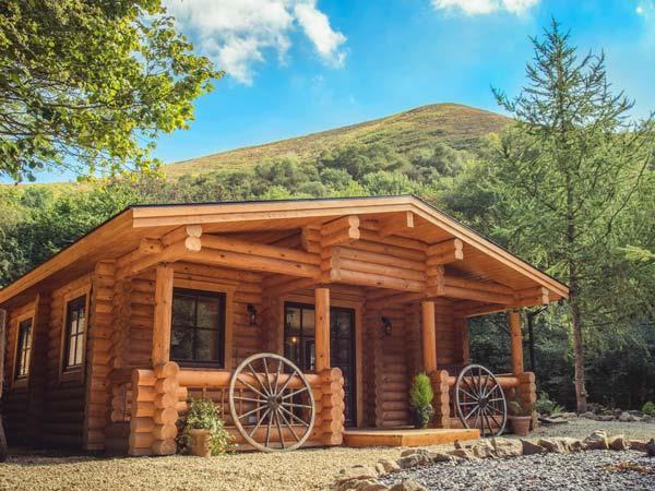 Wilderness Lodge in Shropshire