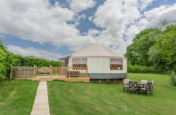 Willow Yurt in East Hoathly, Sussex - East Sussex