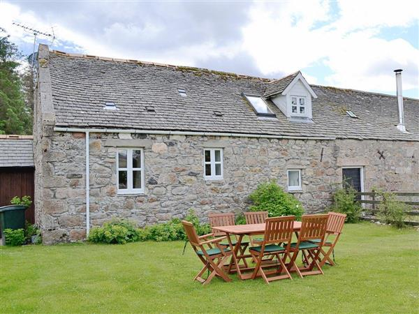 Woodside Cottage in Banffshire