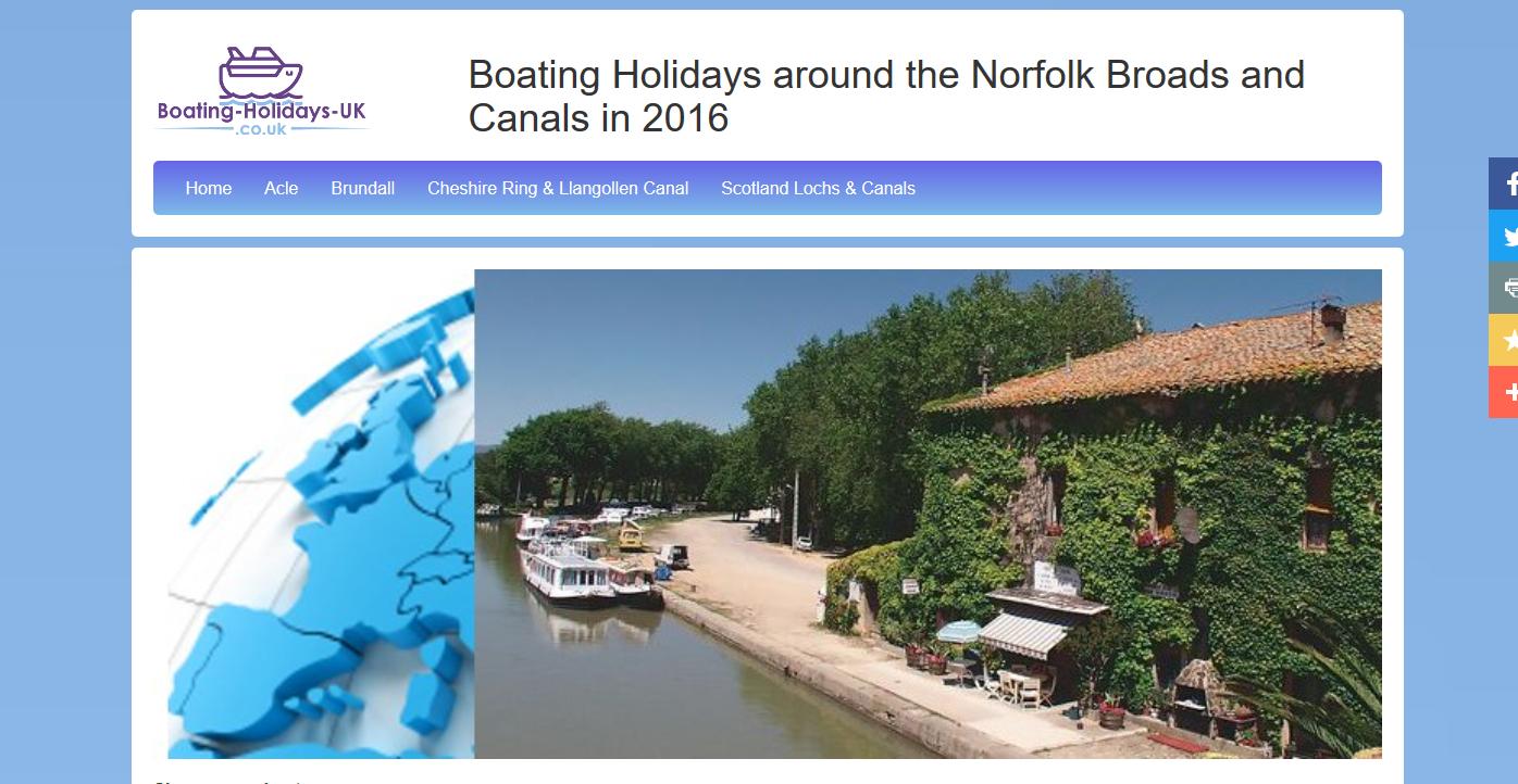 Boating-Holidays-UK.co.uk screen